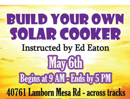 Build Your Own Solar Cooker