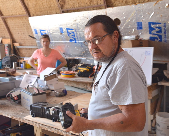 Solar Trainers collaborate on the Pine Ridge Lakota Indian reservation