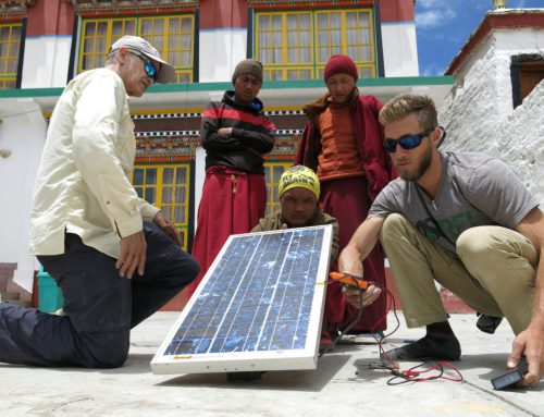 Solar Project in the Himalaya