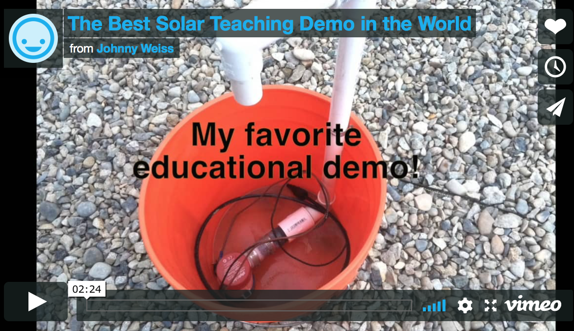 The Best Solar Teaching Demo in the World