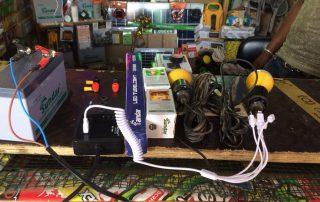 Solar equipment purchased