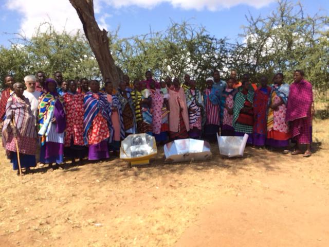 Solar 'cookin' in Tanzania