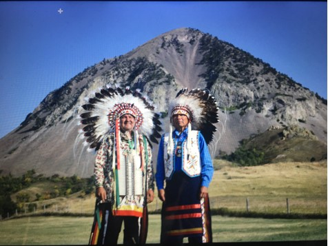 Chief Henry Red Cloud and Chief Spotted Tail